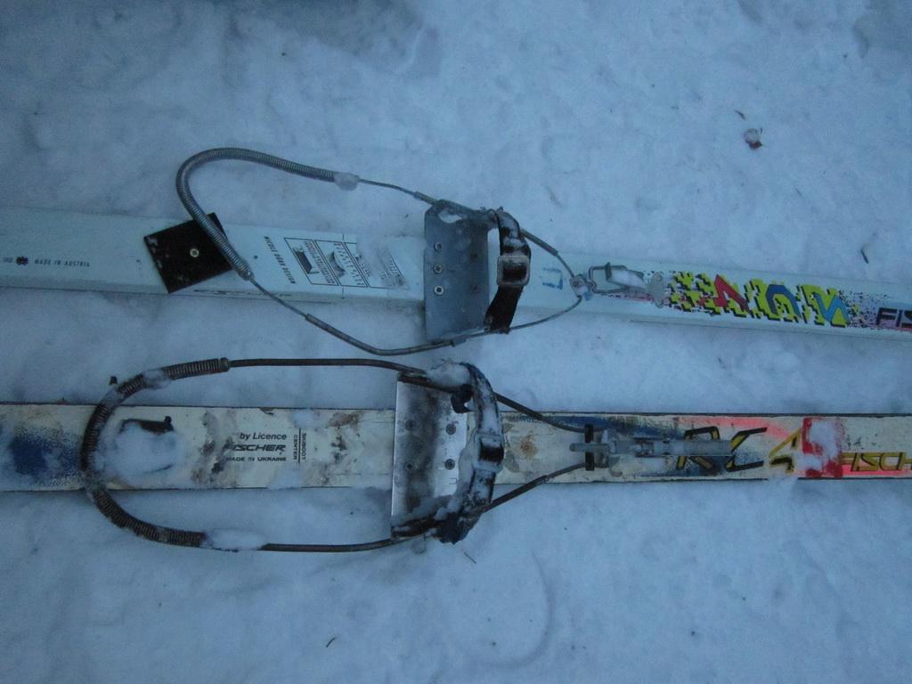 Инструкция по установки лыжного крепления