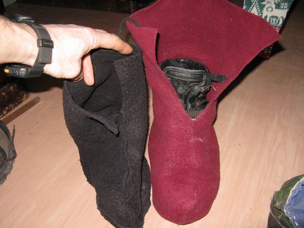 Как самому сделать носки 94